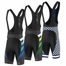 "FDX Mens ""Limited Edition"" Cycling Bib Shorts Gel Chamois Padded Tights shorts"
