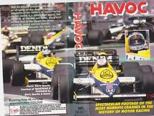 MOTOR SPORT HORRIFIC CRASHES  IN THE HISTORY OF RACING VHS VIDEO PAL A RARE FIND