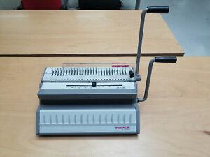 """Renz """"eco S 360"""" 2:1; 5,5x3,5mm; manuelle Stanz - und Wire-O-Bindemaschine"""