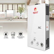 16L/min Tankless Natural Gas Digital Display Instant 4.2 GPM Water Heater Indoor