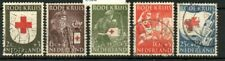 Netherlands 1953 Red Cross set Sg769/773 used Sg cv £14