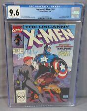UNCANNY X-MEN #268 (Captain America, Black Widow, Wolverine cover) CGC 9.6 1990