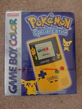 Nintendo Gameboy colour console Pokemon Pikachu Game Boy Color NEW SEALED
