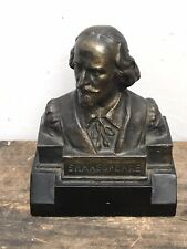 More details for counter top display havana cuba  usa american shakespeare cigars bust vintage