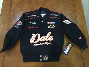 Vintage NASCAR Dale Earnhardt Jr. Kids Youth Small JACKET NWT JH Designs
