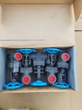 "NEW!! Lot of (5) 3/4 "" 0800 Smith Forged Steel Gate Valves body A105"
