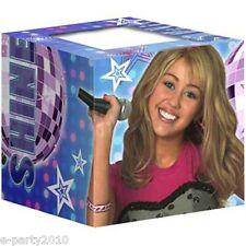 HANNAH MONTANA PHOTO HOLDER BOXES (8ct) ~ Birthday Party Supplies Mini Favors