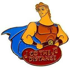 Disney Magical Musical Moments Go the Distance Hercules Pin