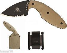KA-BAR #1477CB TDI LAW ENFORCEMENT / SELF DEFENSE CONCEALMENT KNIFE SYSTEM