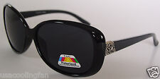 New women Designer sunglasses P7102 Black Frame/Gray Polarized lens