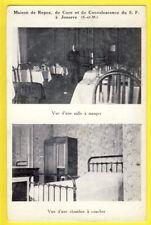 cpa Rare 77 - JOUARRE MAISON de REPOS vues d'une SALLE à MANGER et d'une CHAMBRE