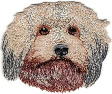 "2 1/2"" x 2 1/8"" Havanese Head Portrait Dog Breed Embroidery Patch"