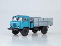 Scale model truck 1/43 GAZ-66