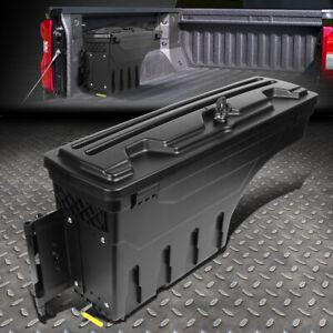 FOR 02-18 DODGE RAM 1500 2500 3500 TRUCK WHEEL WELL STORAGE TOOL BOX W/LOCK LEFT