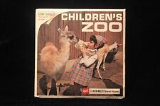 Children's Zoo, San Diego, Calif Viewmaster 1960's w/3 Reels & Booklet EXCELLENT