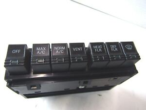 F1SZ-19980-A  fits 1991 -93 FORD THUNDERBIRD COUGAR  AC CONTROL SWITCH NEW