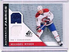 2007/08 UD SP GAME USED MICHAEL RYDER JERSEY