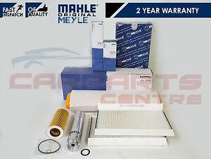 FOR BMW 5 SERIES E60 E61 525d 530d AIR OIL DIESEL FUEL POLLEN FILTER SERVICE KIT