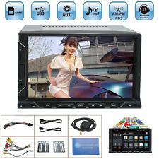 """7"""" 2 DIN Android 8.1 Car GPS Stereo Touch Radio Player Octa-Core 2+16GB BT DAB"""