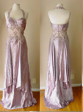 ALYCE DESIGNS BEAD SEQUIN EVENING COCKTAIL DRESS GOWN PROM PAGEANT WEDDING FORMA