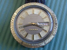 """LONGINES AUTOMATIC """"ADMIRAL"""" MODEL FANCY CASE AND DIAL, MANS VINTAGE WRISTWATCH."""