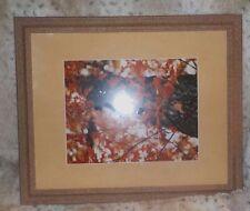 "Granite stone wood frame, 16"" x 20"", 2"" wide rails, regular clear glass"