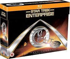 Star Trek Enterprise Full Journey Complete Series Seasons 1 2 3 4 BluRay Box Set