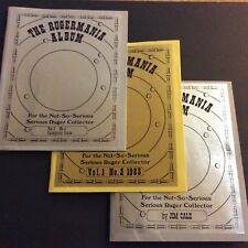 Rugermania Albums Volumes 1, 2, & 3, Sturm Ruger Collectors Memorabilia Guns RCA