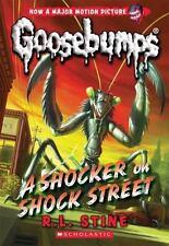 A Shocker on Shock Street (Classic Goosebumps #23) by Stine, R.L., Good Book