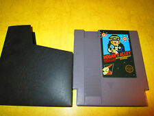 NINTENDO NES GAME HOGAN'S ALLEY  WITH DUST COVER