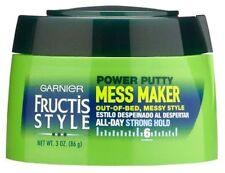 3 Garnier Fructis Mess Maker Power Putty 3oz Jar - 3 Pack