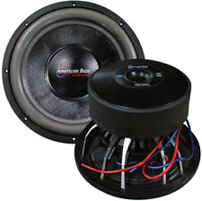 "American Bass HD15D2 15"" Woofer 3000 Watts Max 2 Ohm DVC"
