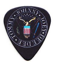 Ramones Presidential Seal Promo Black Guitar Pick