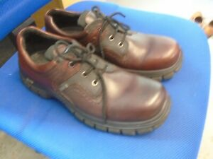 Ecco brown leather Gore-tex waterproof walking shoes size 9/43