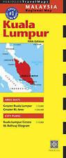Kuala Lumpur Periplus Map (Periplus Maps), Periplus Editions, Excellent conditio