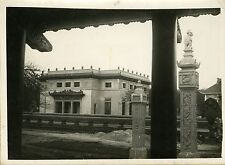 """COMMISSARIAT D'INDOCHINE"" Photo originale de Mr BLANCHE par Henri MANUEL 1931"