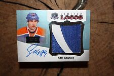 UPPER DECK THE CUP 2012 13 SAM GANGER LIMITED LOGO HOCKEY CARD