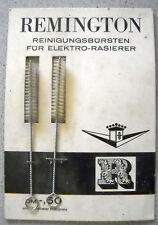 REMINGTON Reinigungsbürsten für Elektro-Rasierer Vintage NOS