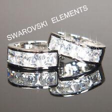 Pendientes de bisutería color principal plata oro blanco cristal