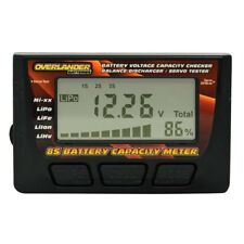 Battery Capacity Meter Voltage Checker 8S LiPo Balance Discharger & Servo Tester