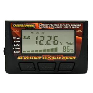 Battery Capacity Meter Voltage Checker 8S LiPo Balance Discharger & Servo Tester