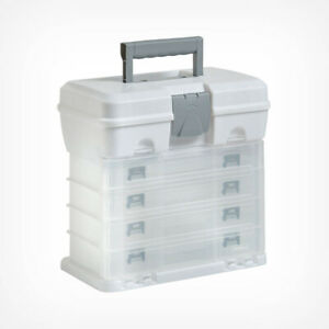 Small Plastic Drawer Organiser Box Case Art Craft Hobby Sewing Bits Storage Tidy