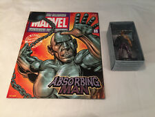 """Eaglemoss """"The Classic Marvel Figurine & MAGAZINE COLLECTION"""" absorbant homme #88"""