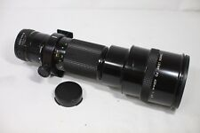 Canon New FD 400mm F/4.5 MF Lens Made In Japan