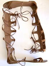 Aldo Tall Gadiator Sandals Halloween Costume Clothing Shoes Brown
