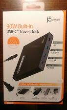J5create ULTRADRIVE POWERDOCK USB Type-C Powered Docking Station NEW FAC SEALED