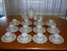 Kaffeeservice Royal Tettau  - Annette - Drache - Mod. 12 Pers. - ca. 60er Jahre