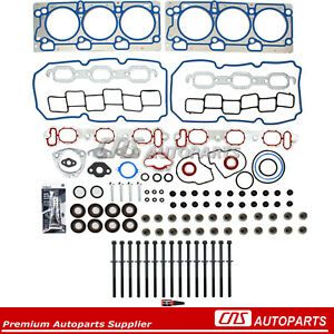For 99-06 Chrysler Dodge Plymouth 3.5L SOHC V6 MLS Head Gasket Set Head bolts