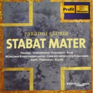 "Paradisi Gloria - Stabat Mater (CD, Dec-2004, Profil - Edition Gnter H""nssler)"