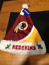 Washington Redskins Official NFL Knit Christmas Santa Hat, NWT